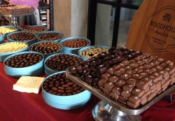 Always a favorite, Woodhouse Chocolates presents samples of their amazing creations.