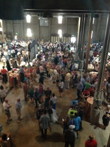 Nothing matches the excitement of the barrel auction.